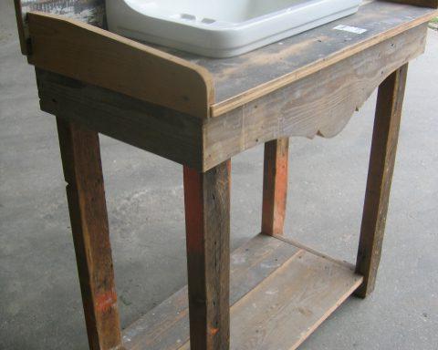 Wastafel (met meubel)