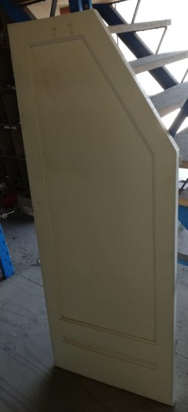 Paneeldeur trapkast 10065 – 1 vaks
