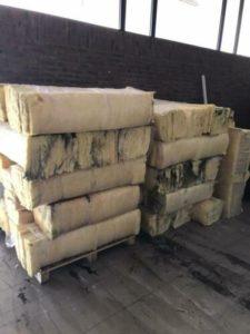 glaswol isolatie, tweedehands materialen, gebruikt, gebruikte bouwmaterialen, Rijsbergen, Zundert, Breda, Etten-Leur, circulaire bouwmaterialen, afhalen
