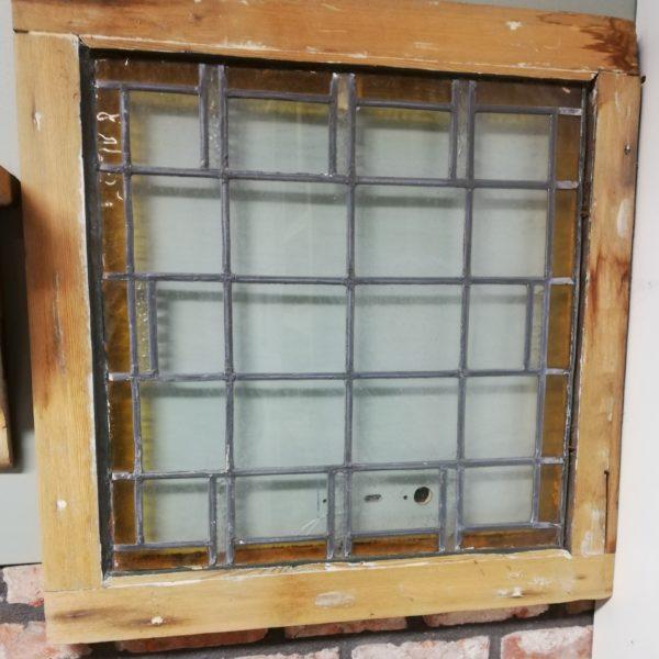 Raampaneel glas in lood – 10229