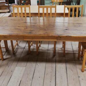 Eettafel met stoelen 10206