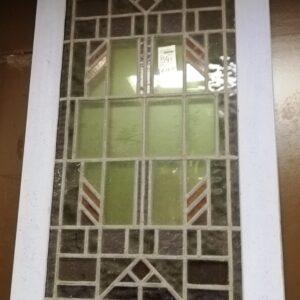 Deurpaneel glas in lood - 10208
