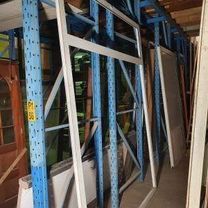 Kunststof kozijn voor dubbele deuren | 200x266 cm