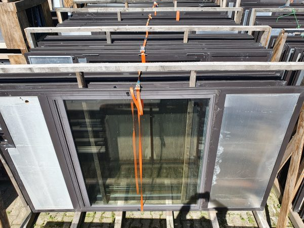 Aluminium raamkozijnen 2990x1750 mm grote partij