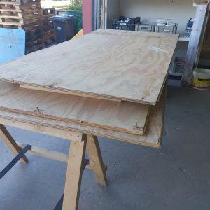 underlayment plaat | 18 mm | 122x244 cm