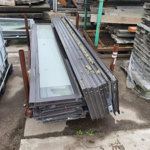 Aluminium raamkozijnen 450x2430mm