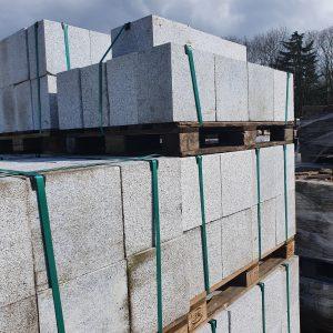 Natuursteen vierkante gladde blokken | 30x20x30 cm
