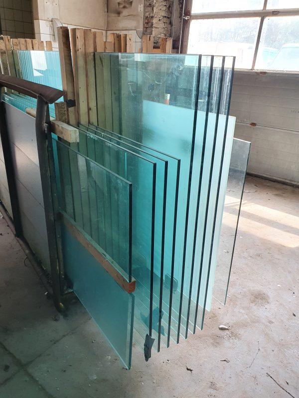 Glazen wand panelen