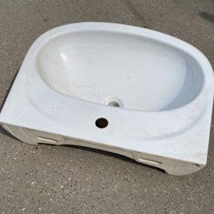 Wasbak zonder kraan | 62x45 cm