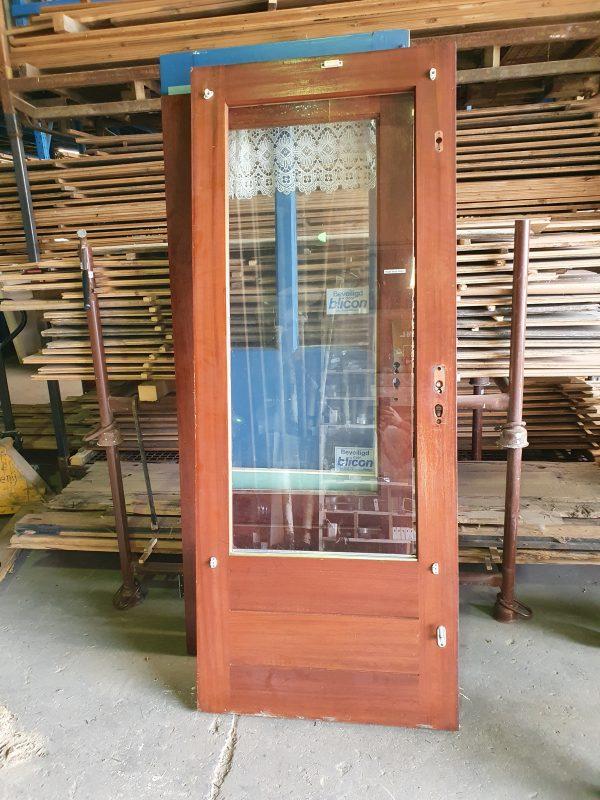 Achterdeur met glas - 10792