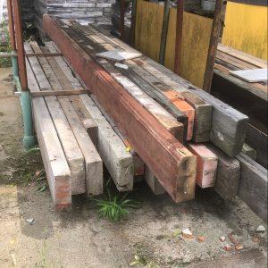 Houten balken 65x165