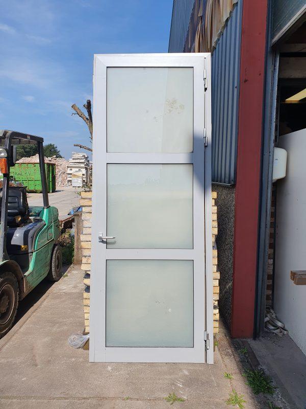 Hoge glazen deur met kozijn - 105x266,5 cm