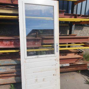 Achterdeur met dubbel glas   82,5x201 cm