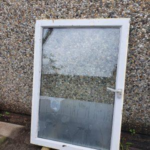 Binnenraam dubbel glas - 82,2x117,4 cm